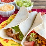 slow cooker turkey fajitas
