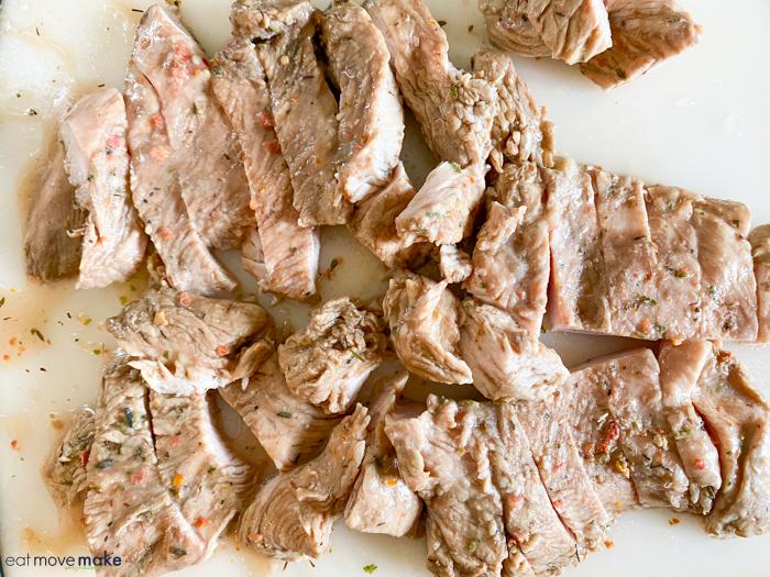 turkey cutlets for turkey fajitas