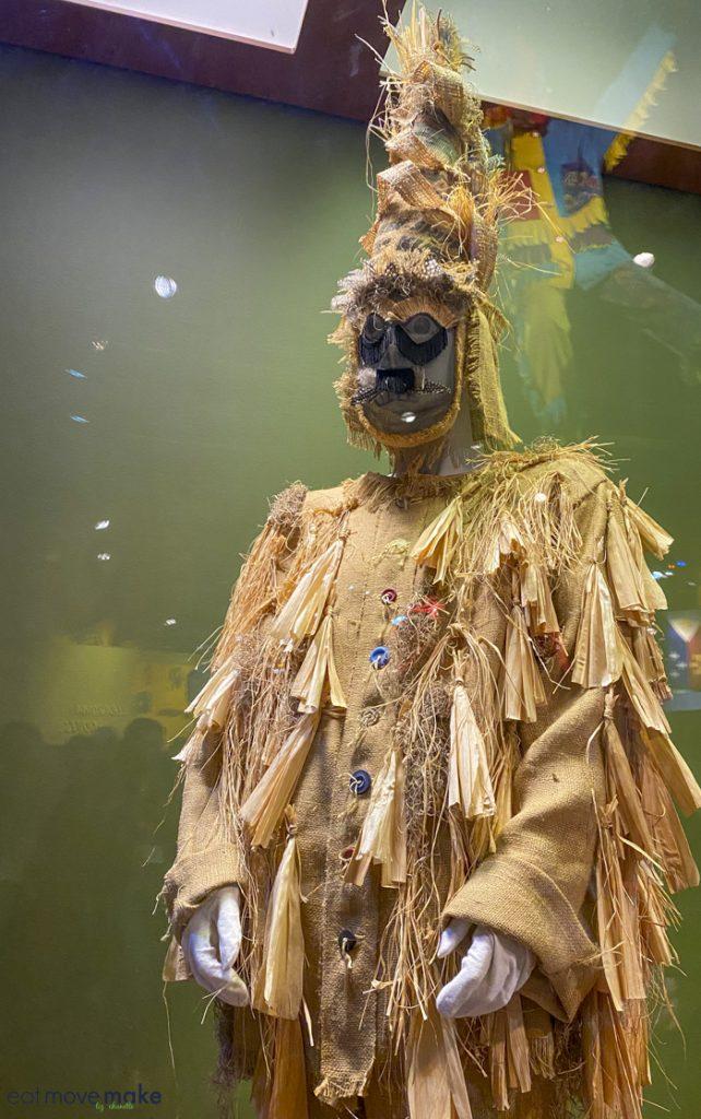 Mardi Gras costume at Capitol Park Museum