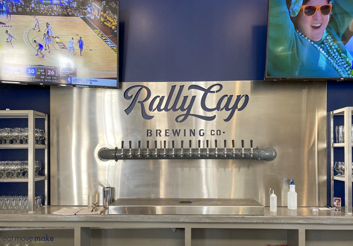 Rally Cap Brewing taps