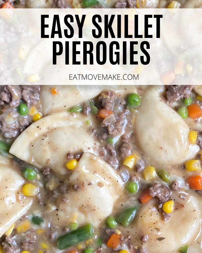 easy skillet pierogies