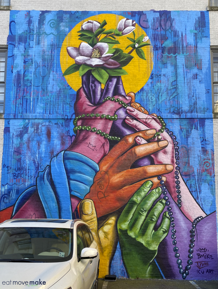 mural in Baton Rouge