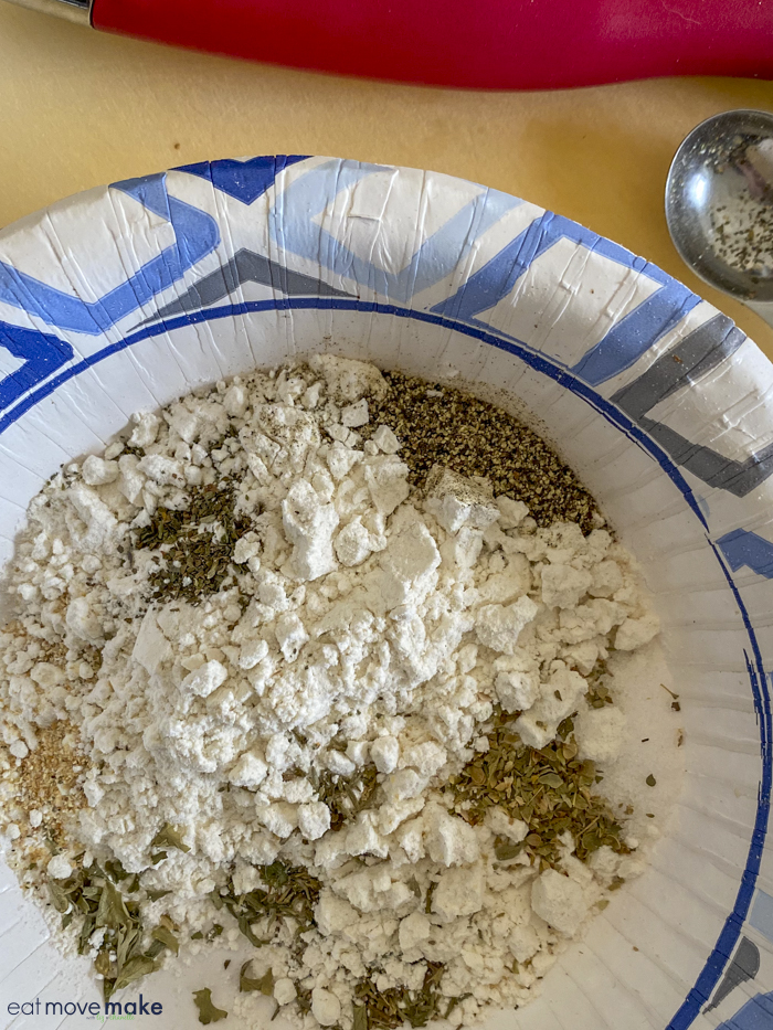 seasoning for pierogie skillet