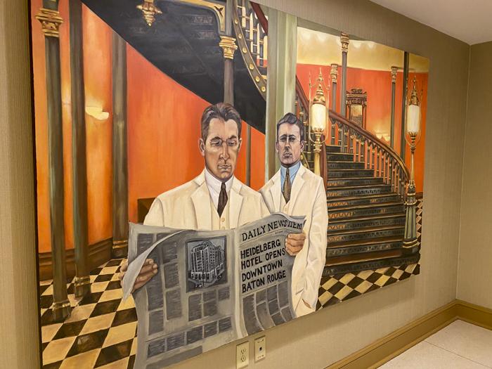 Heidelberg Hotel mural