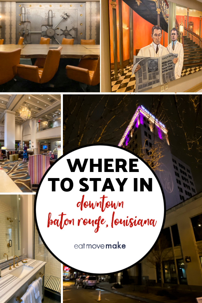 hotels in downtown Baton Rouge