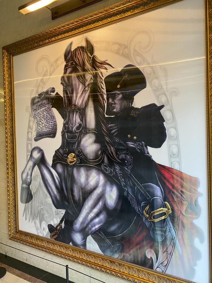 Watermark mural