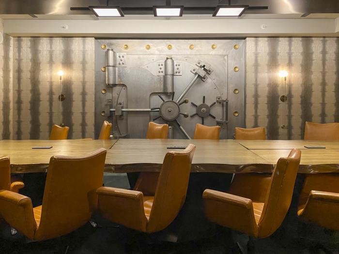 Watermark vault room