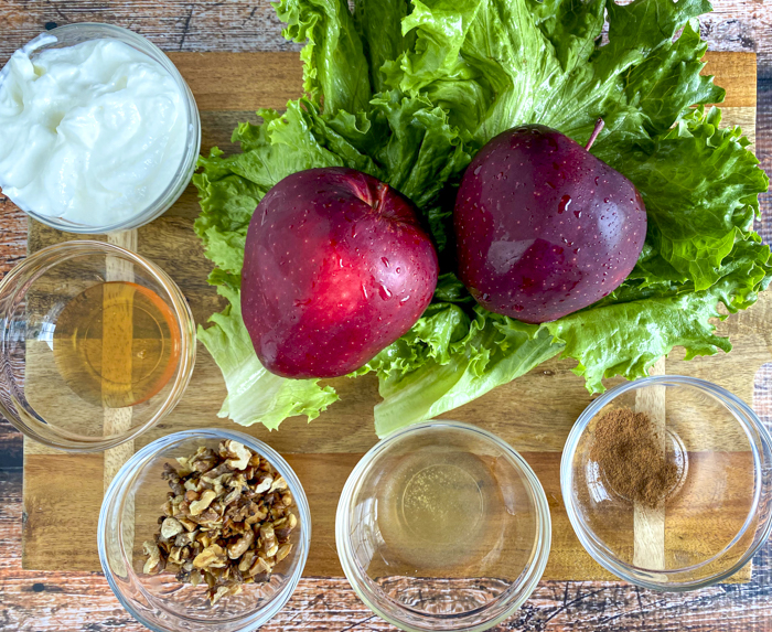 apple yogurt salad ingredients