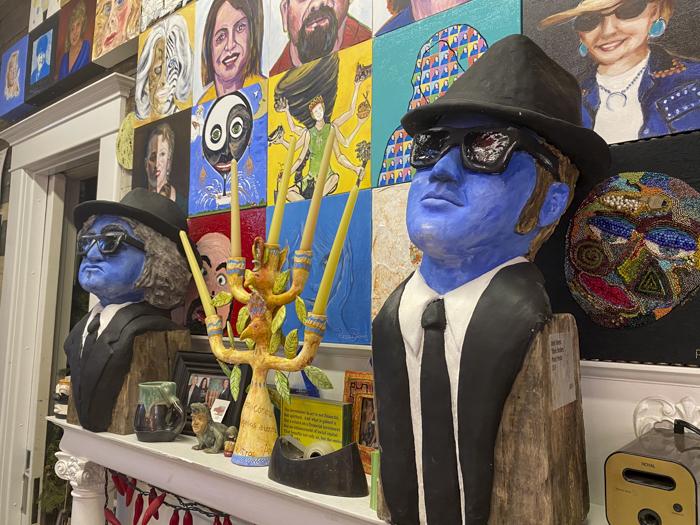 Blues Brothers art River Oaks Square Arts Center