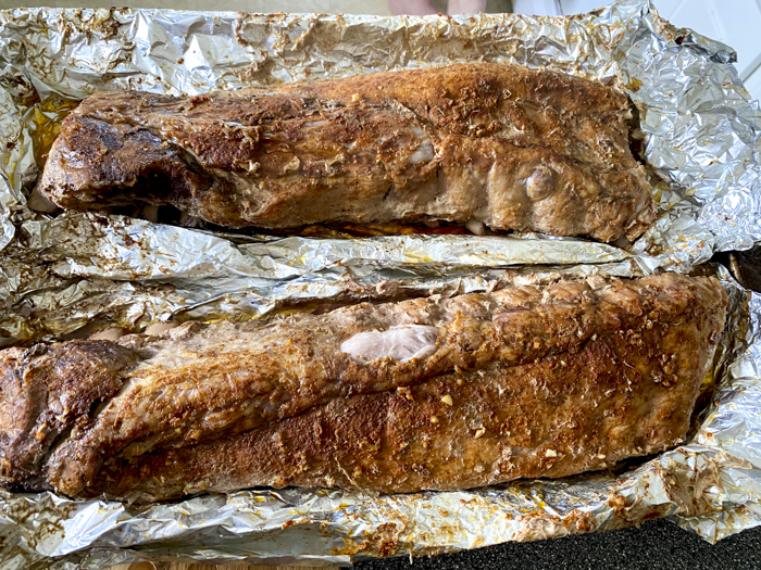 slow cooked oven baked ribs