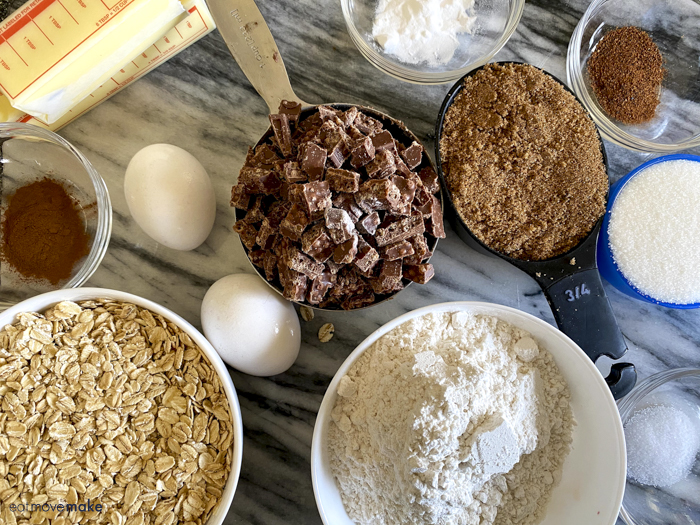 Nestle Crunch oatmeal cookies ingredients