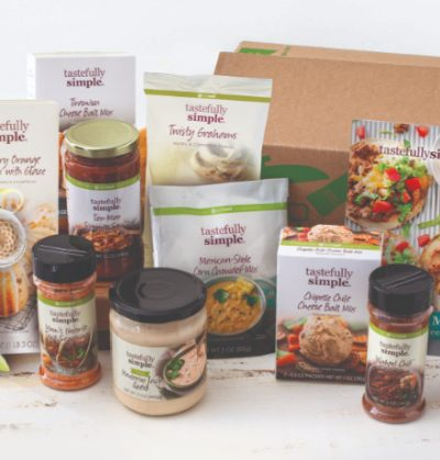 Tastefully Simple Fall Giveaway bundle