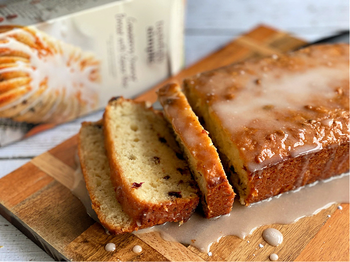 Tastefully Simple cranberry bread