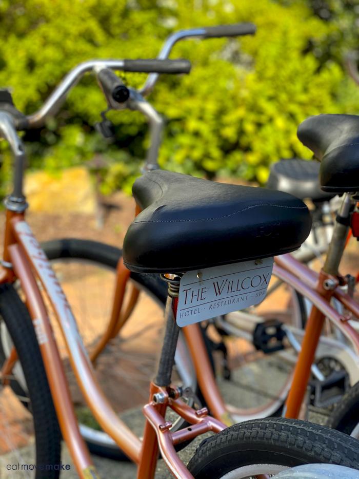 The Willcox bikes