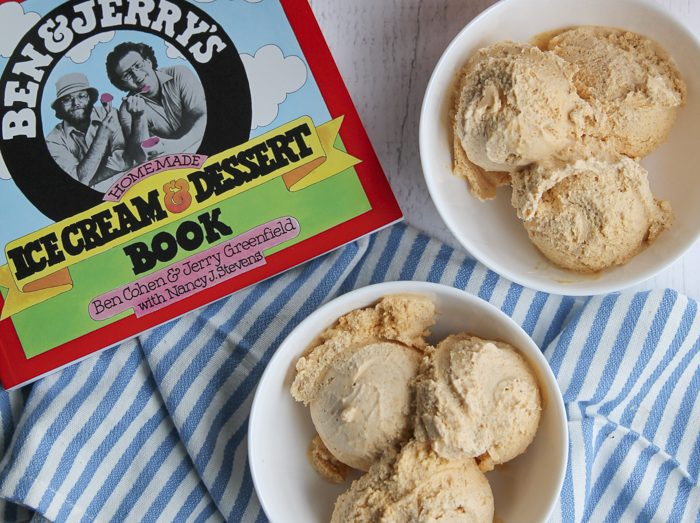 pumpkin ice cream with Ben & Jerry's Ice Cream and Dessert book