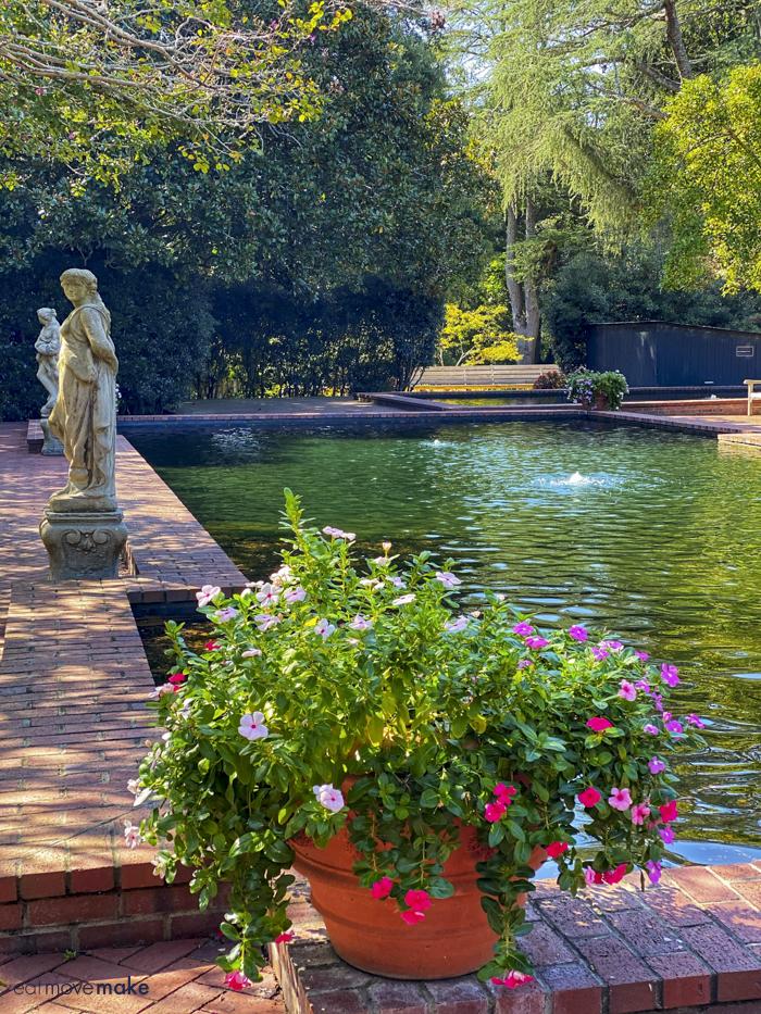 reflecting pond