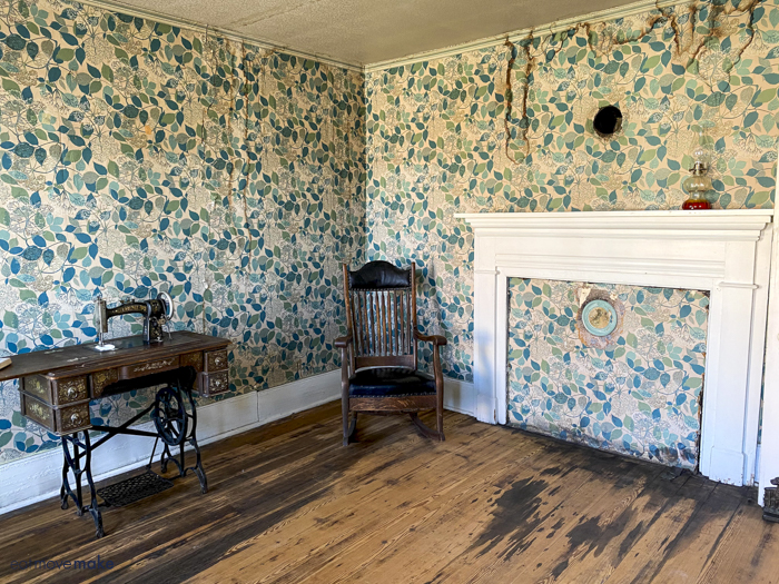 Edith Bolling Wilson family home - room where she was born