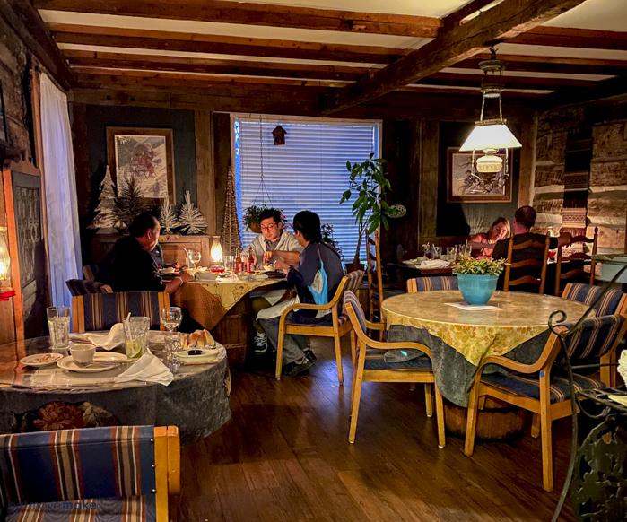 Log House 1776 Restaurant - original section