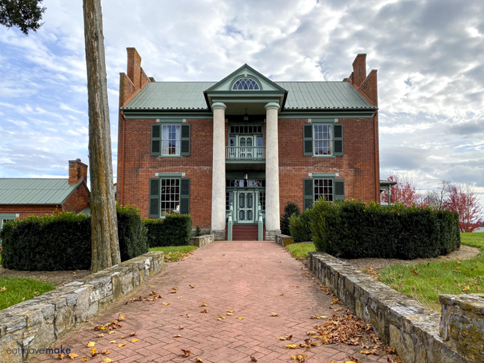 Mansion at Fort Chiswell