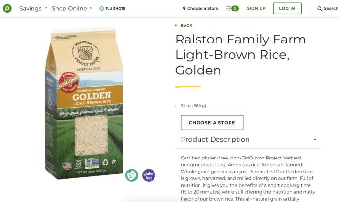 Ralston Family Farm Light-Brown Rice, Golden