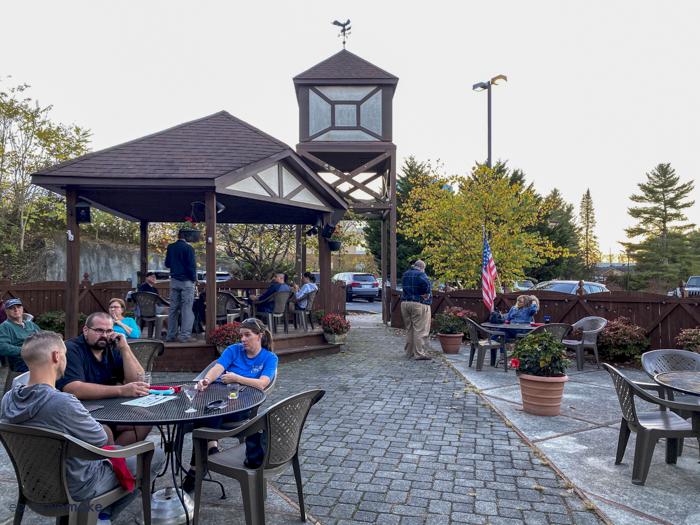 Wohlfahrt Haus beer garden
