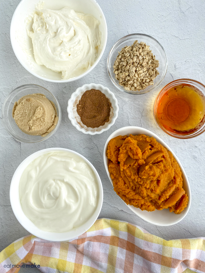 pumpkin parfait ingredients