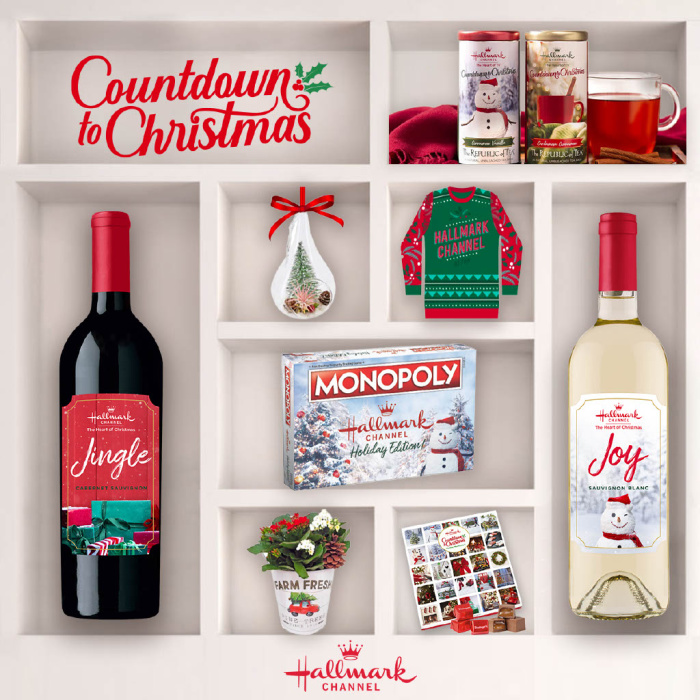 Hallmark Channel holiday products
