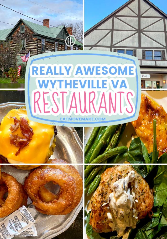 really awesome wytheville va restaurants