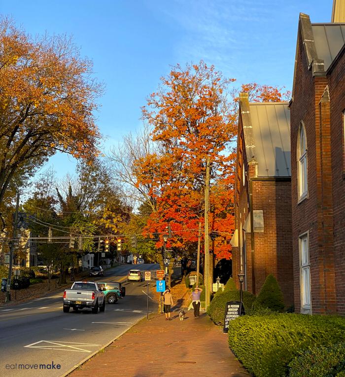 fall street in Abingdon