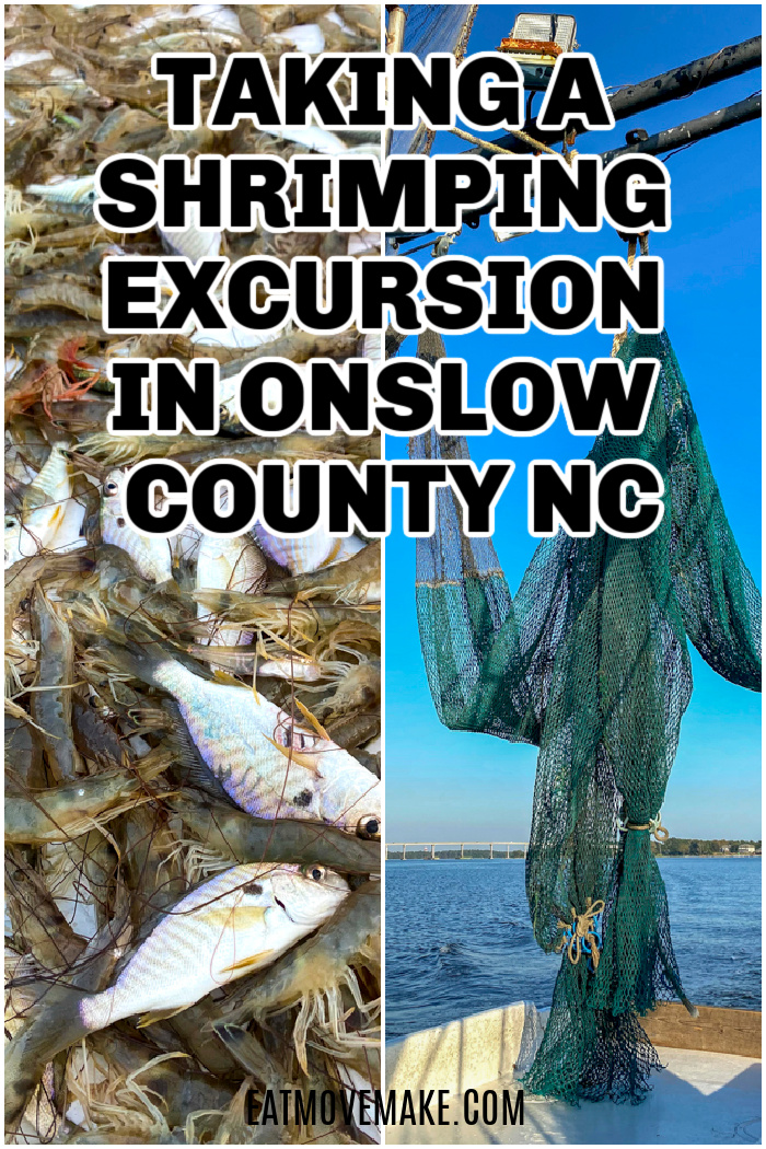 shrimping excursion in Onslow County NC