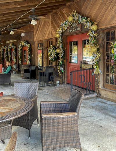 Duplin Winery patio
