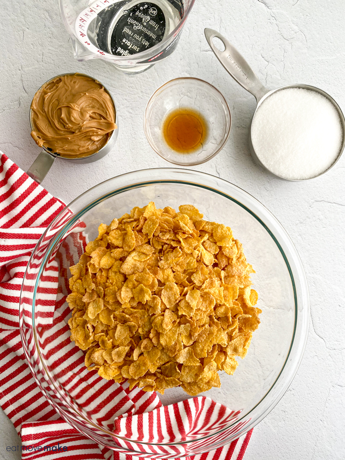 ingredients for cornflake candy