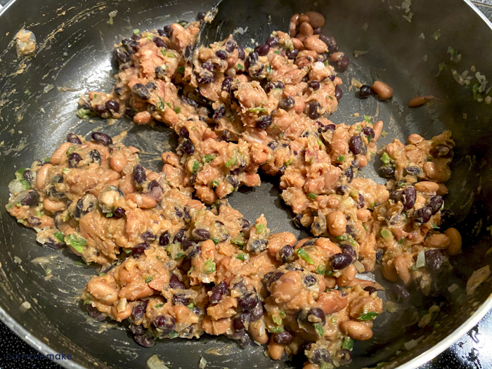meat and bean mixture