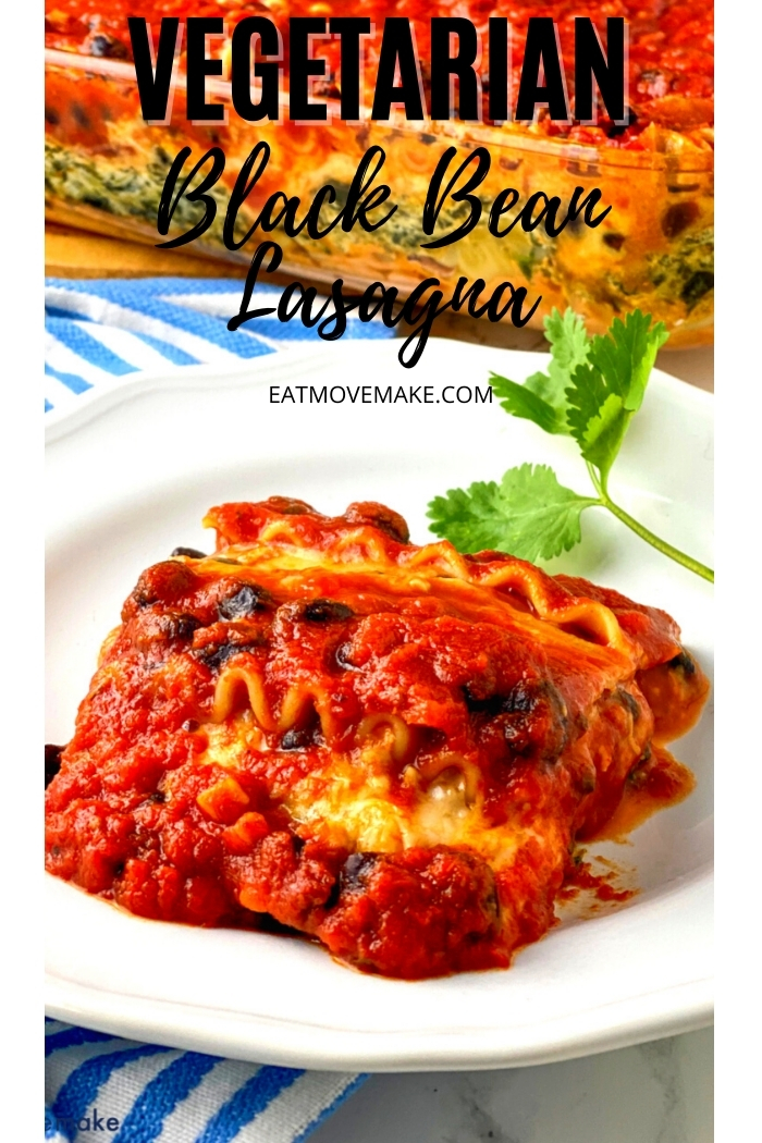 Vegetarian Black Bean Lasagna
