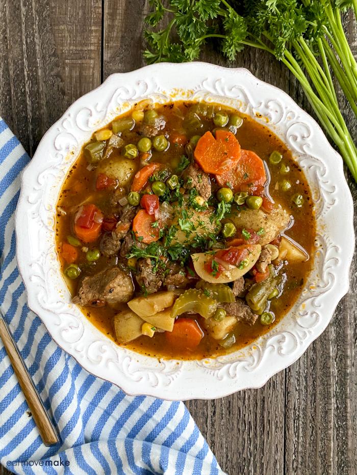 bowl of mulligan stew