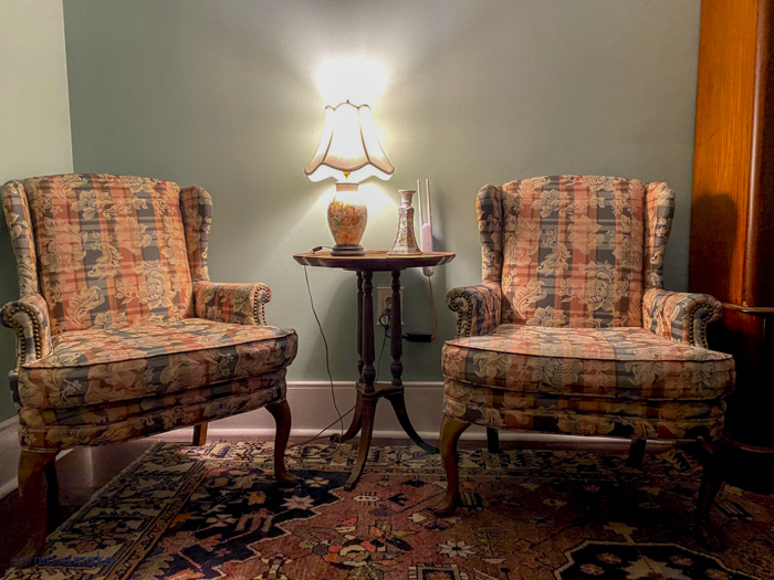 chairs in Camellia room