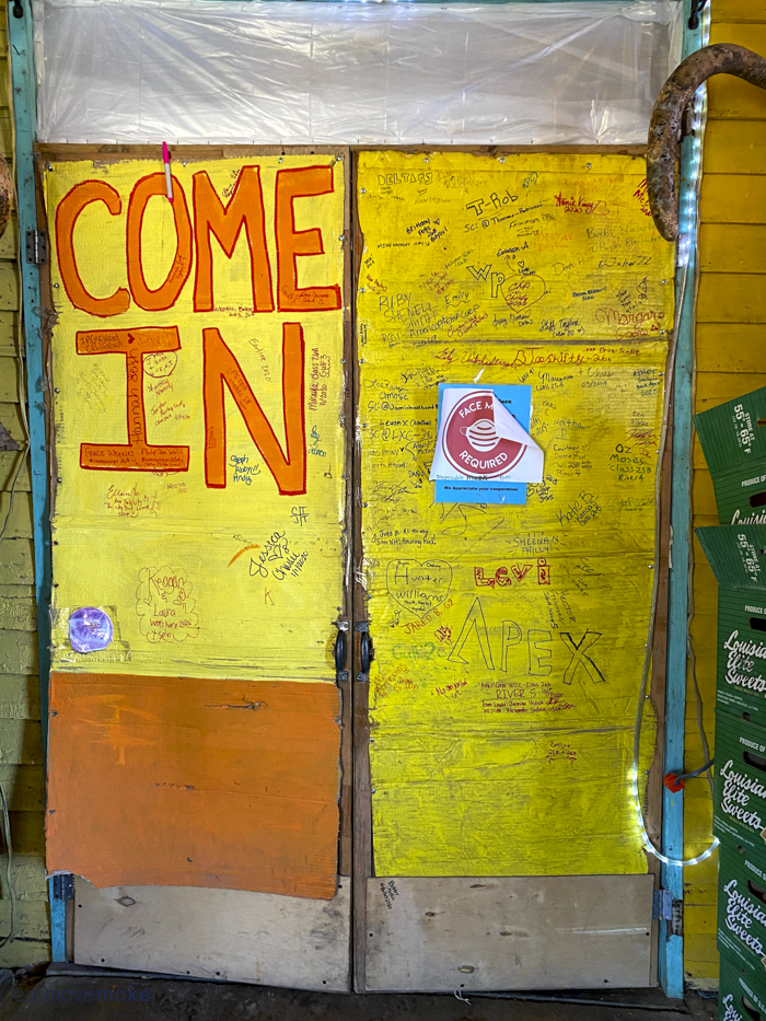 door to Tomato Place