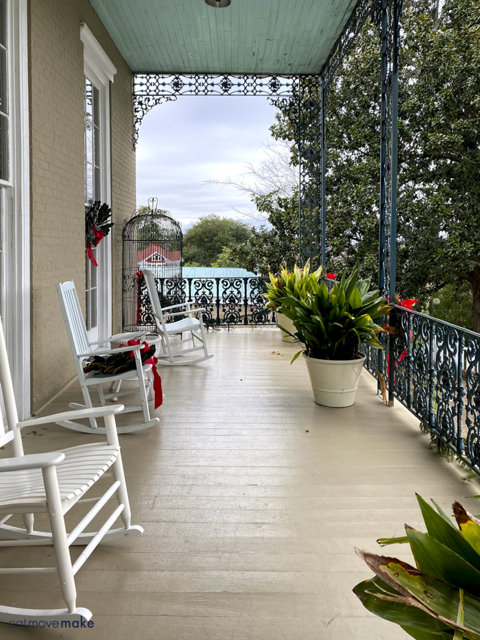 porch of Duff Green Mansion