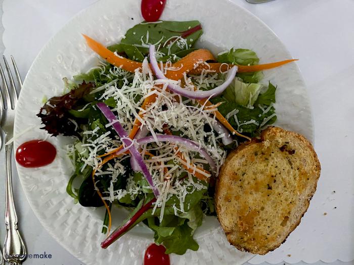 side salad - Anchuca