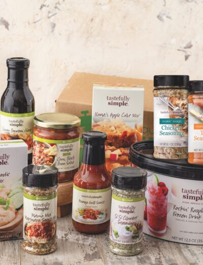 Tastefully Simple giveaway prize