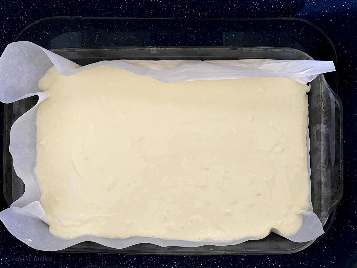 cheesecake in water bath