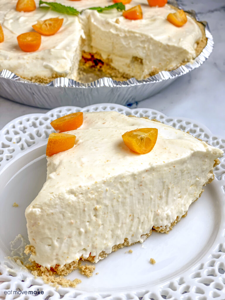 kumquat pie slice