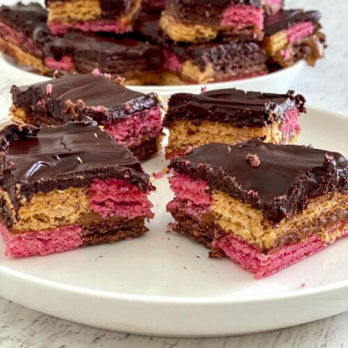 chocolate caramel wafer bars