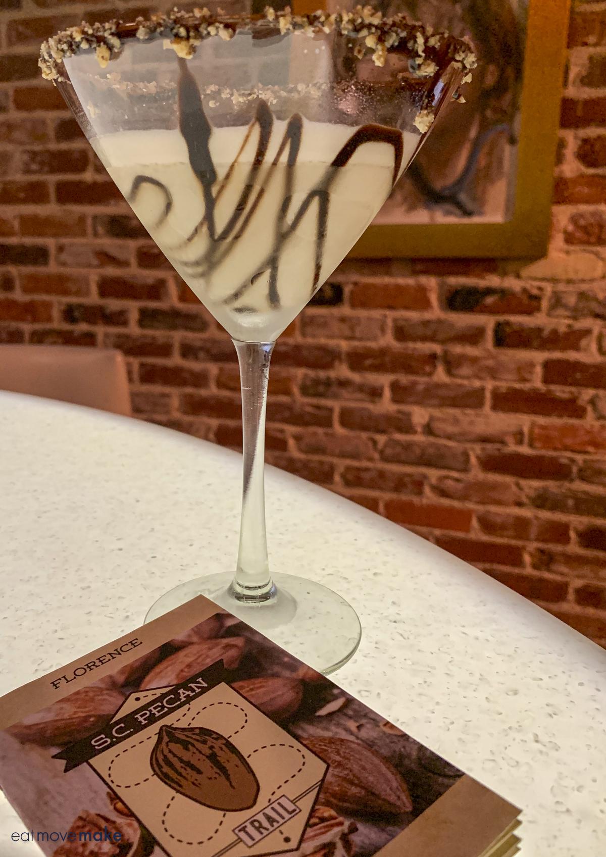 pecan pie martini at Victor's