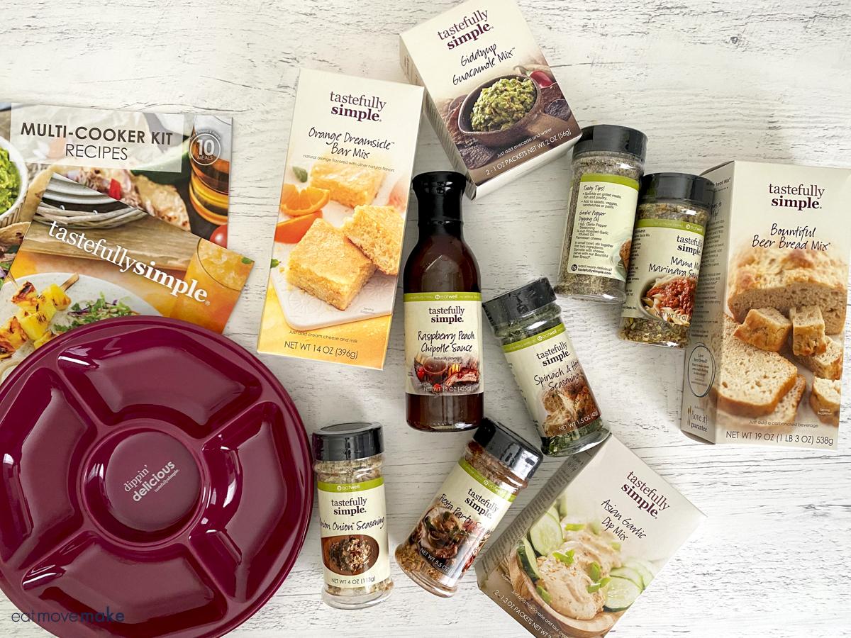 Tastefully Simple giveaway_items