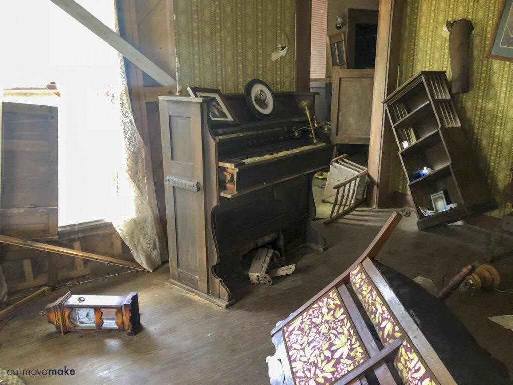 topsy turvy furniture in Oz farmhouse