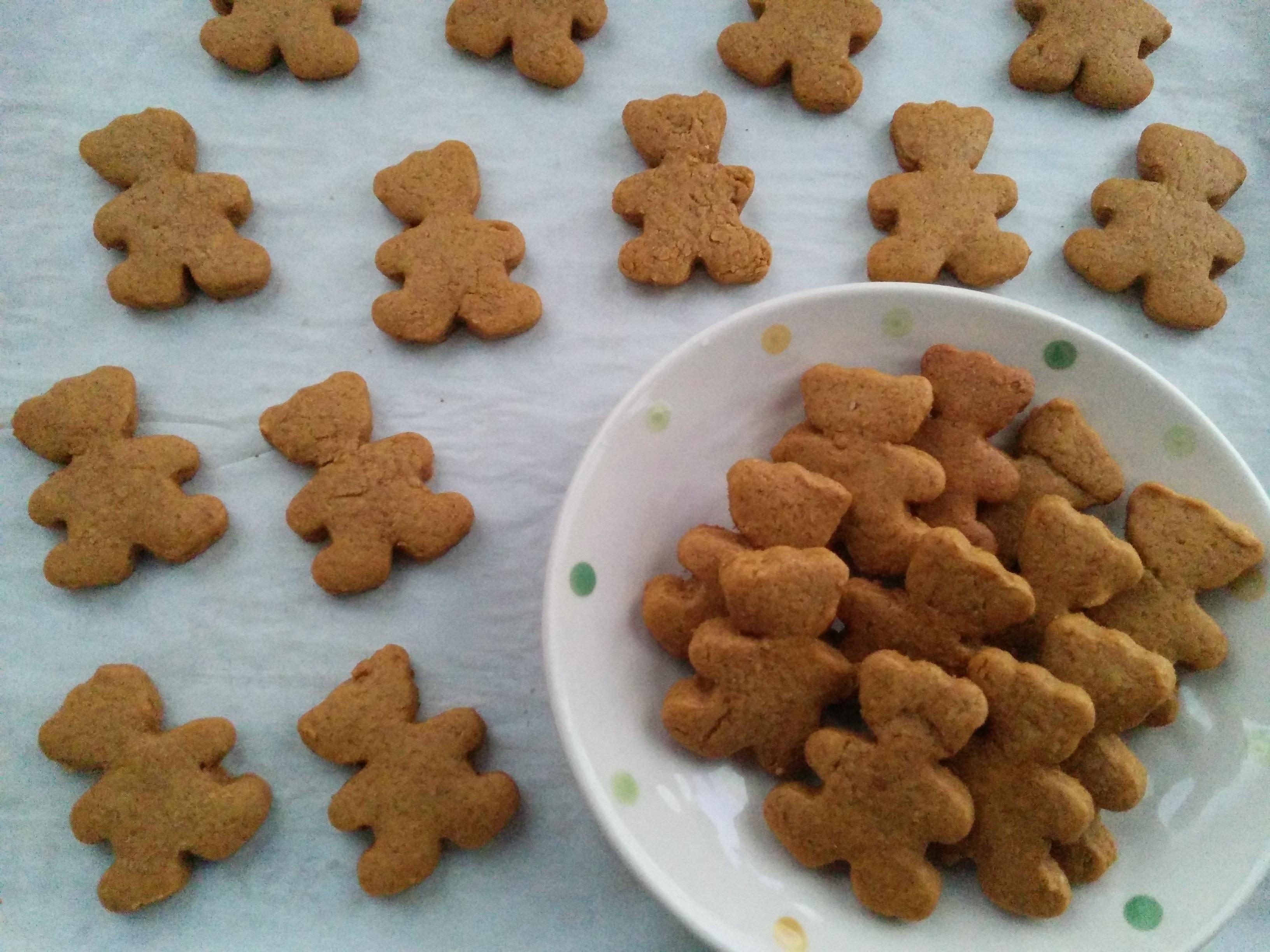 Easy Homemade Teddy Graham Crackers