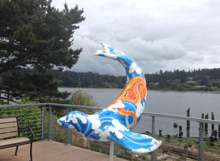 Umi No Nami Sea Lion at Bridge