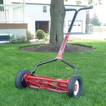 manual reel mower spring fever sale