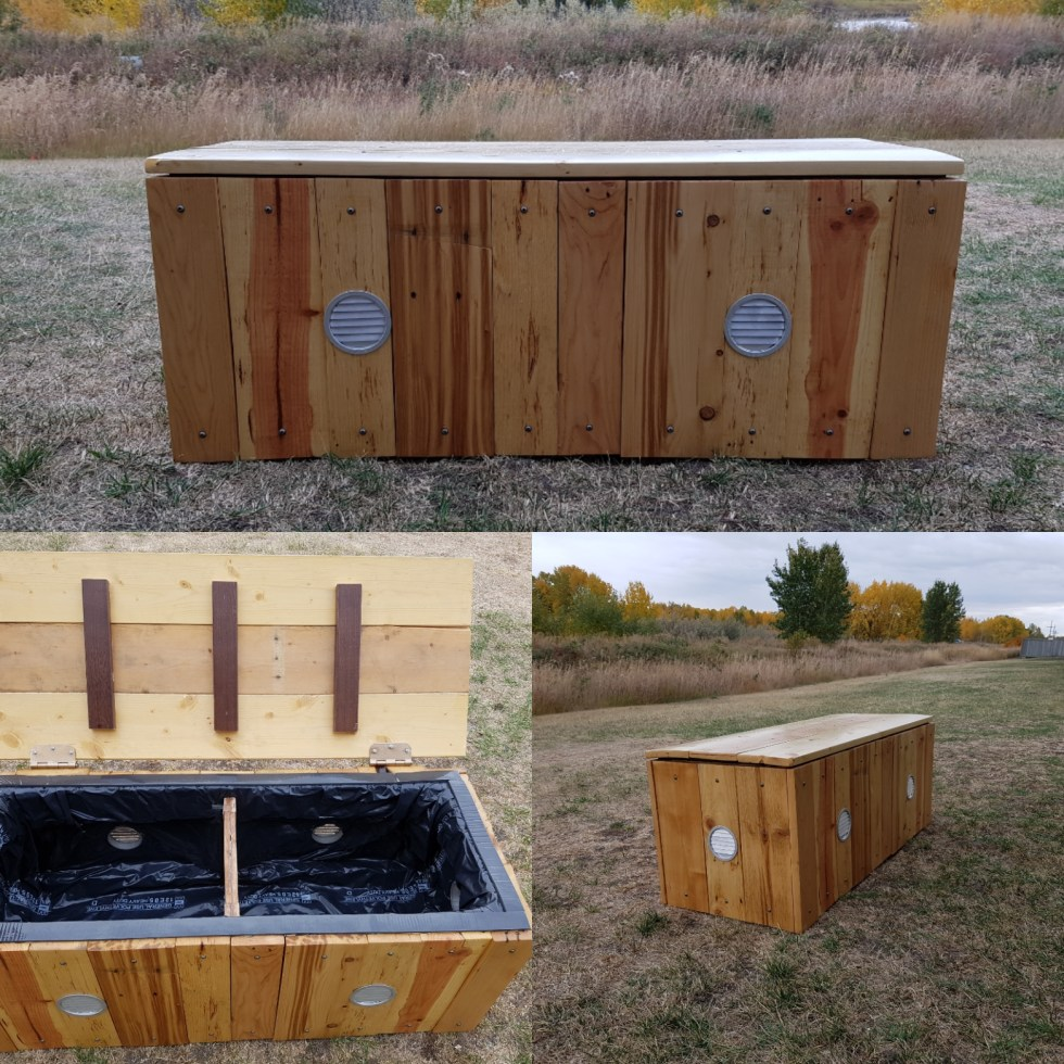 Migration system for worm composting on-site